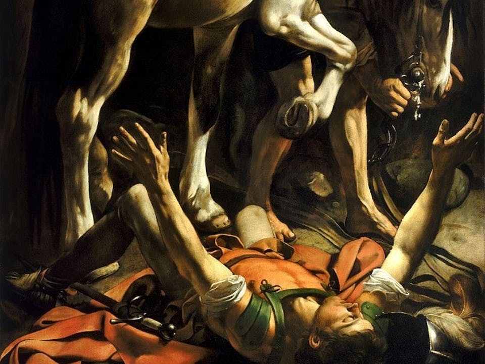 800px-Conversion_on_the_Way_to_Damascus-Caravaggio_(c.1600-1)