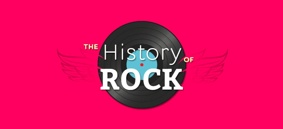 La storia del rock in un'infografica: dal rock anni '50 all'indie