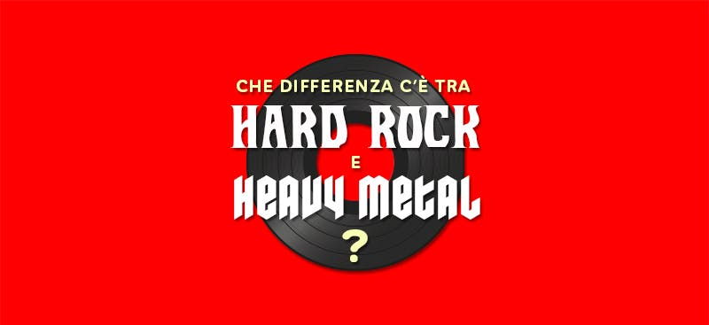 Dall'hard rock all'heavy, la storia del metal in un'infografica