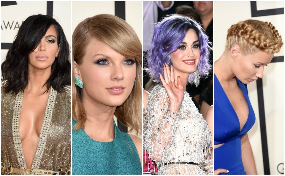 Tendenze capelli 2015: i look delle celebrities ai Grammy Awards