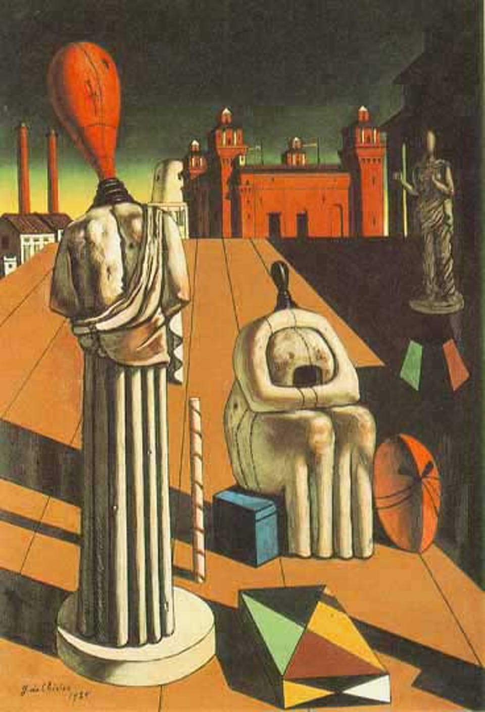 The_Disquieting_Muses de chirico