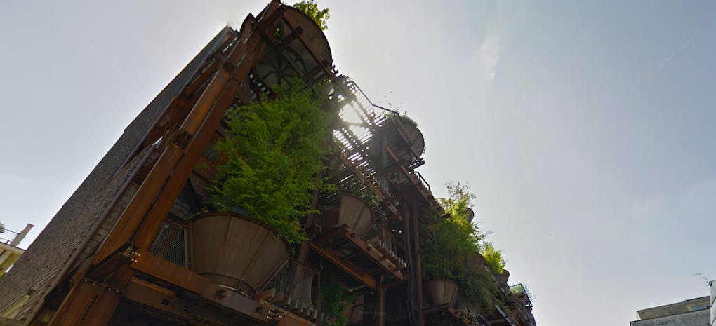 Cos'è una urban tree house? Entriamo nell'edificio