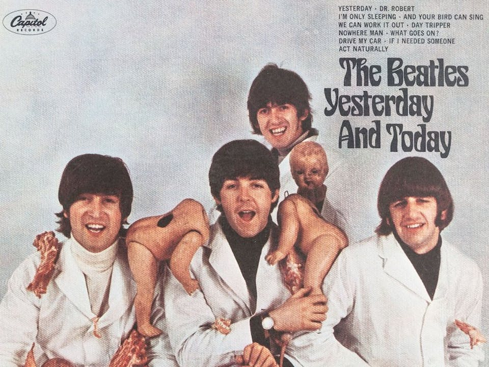 copertine, beatles, censura