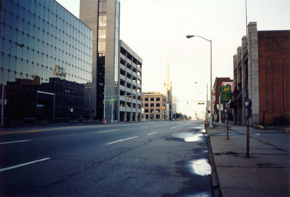 Detroit Ghost Town