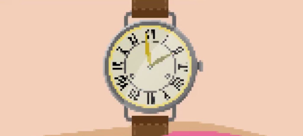Evoluzione digitale - La storia dell'orologio in un video 8bit di 30 secondi