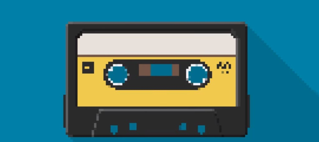 Evoluzione digitale - la storia del music player in un video 8 bit di 30 secondi