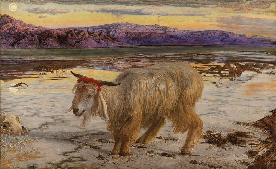 William Hynt - The Scapegoat, 1854-6. Via