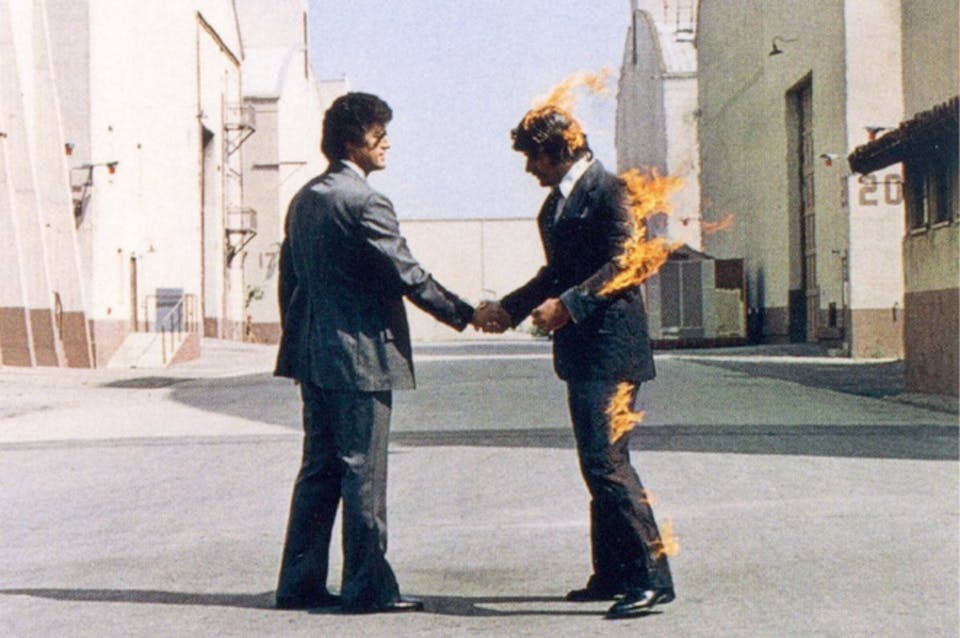 Pink Floyd - Wish you were here (part.). Via