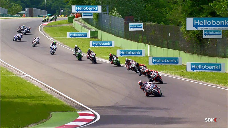 Hello bank! al Superbike World Championship: il video del round di Imola