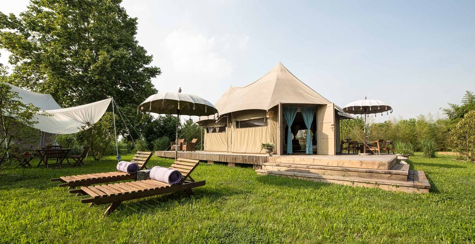 glamping lusso